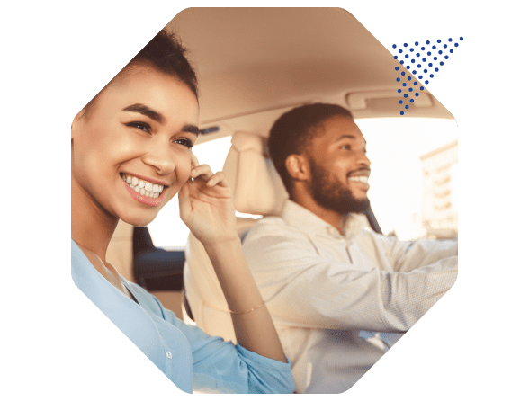 happy drivers with insurance